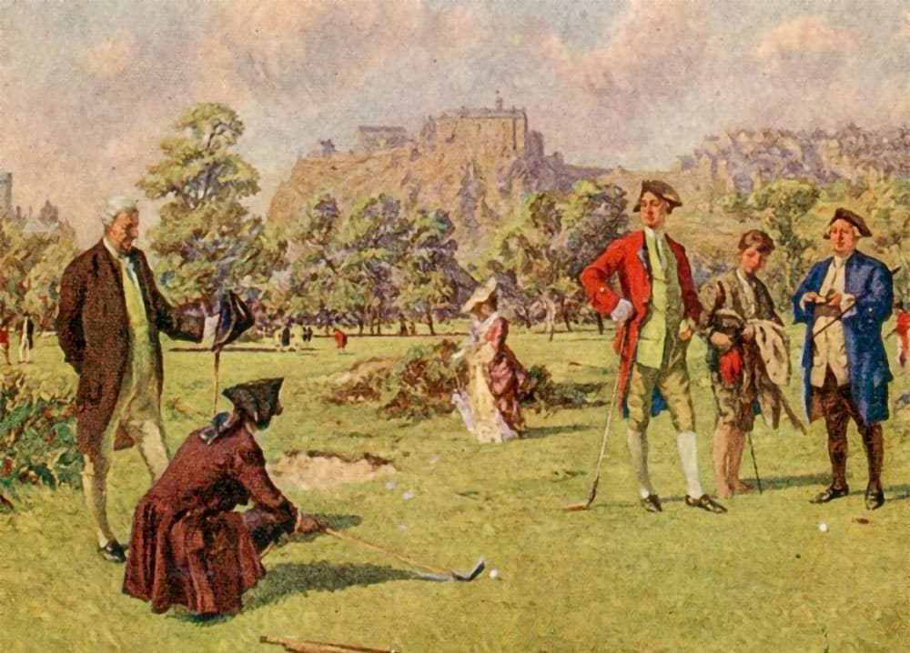On this day 1744: The Honourable Company of Edinburgh Golfers is founded