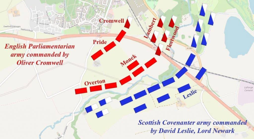 battle of dunbar 1650